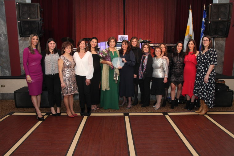 Pancyprian WIN Honors Tasoula Hadjitofi as Woman of the Year